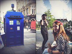 Ali und Isa in London: TARDIS, Reichenbach, Big Ben, Eichhörnchen, London Eye, Flower Crowns, Old Vic Theatre & Richard Armitage!