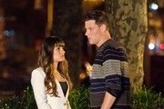 Cory Monteith and Lea Michele Shoot 'Glee'