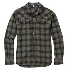 Ibex Merino Wool Men's Taos Plaid Shirt - ZonHunt