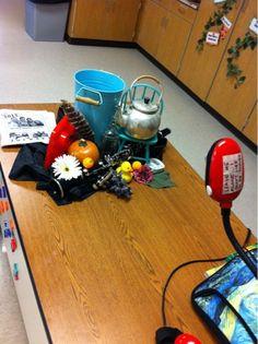 Art at Becker Middle School: Cubist still life rocks! [Using a document camera to project a still life! High School Art, Middle School Art, Intro To Art, Art Education Resources, School Art Projects, School Ideas, Art Curriculum, Art Lessons Elementary, Still Life Art