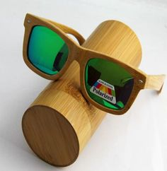 2016 New Handmade Classical Men Bamboo Wooden Sunglasses With Wooden Gift Box