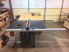 Laguna Tools Fusion Series Tablesaw With Fence
