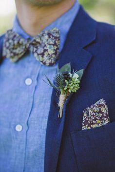 Blue groomsman ideas