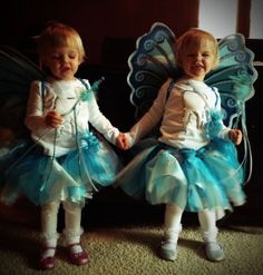 DIY Halloween Costume:  Adorable Tooth Fairies