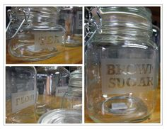 @Wendy Wade with Weswen Design made these AWESOME #DIY jars with etched labels. These would make fantastic personalized bridal shower gifts or bridesmaids gifts!!