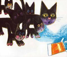 The Surprise Kitten Josef Palecek