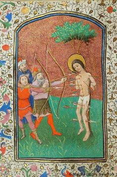 Medieval & Renaissance Manuscripts (20 of 31) « Previous Next »   Thumbnails  Book of Hours Belgium, Bruges, ca. 1440 MS W.3 fol. 181v
