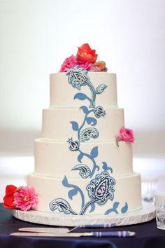 Unique Wedding Cake.