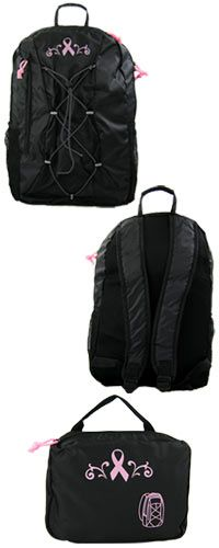 Pink Ribbon Packable Backpack at The Breast Cancer Site # Viking Pink