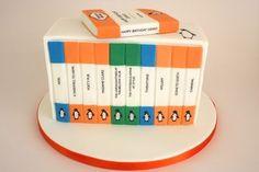 Penguin Classics cake