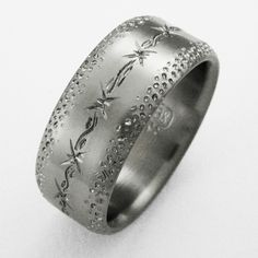 Mens Wedding Rings Titanium 605 | Men Wedding Rings