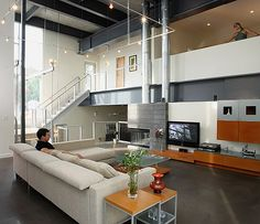 open ceiling design | EXPOSED BEAMS CEILING | Ceiling Systems