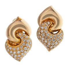 Buy Cara Golden Studded and Simple Swarovski stone earrings for WomenRs2999|Foonty.com FCAJE910