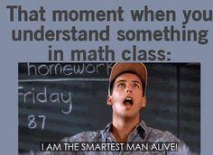rarely do i ever get math lol