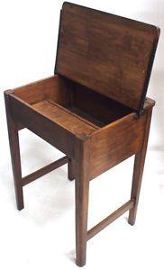 Vintage Child's Oak Desk Retro 20th Century Furniture | eBay