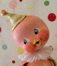 Pink Party Peep by thepolkadotpixie on Etsy