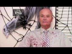 "Creed's Halloween ""costume"" - more at http://www.thelolempire.com"