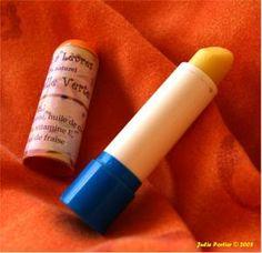Zelfgemaakte lippenbalsem