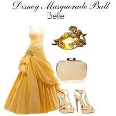 A fashion look from July 2012 featuring Prada sandals, Coast clutches and Masquerade costumes. Browse and shop related looks. Disney Princess Outfits, Cute Disney Outfits, Disney Bound Outfits, Disney Dresses, Prom Dresses, Masquerade Outfit, Masquerade Ball, Masquerade Costumes, Disney Inspired Fashion