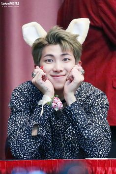 Rap Monster ❤ BTS at the Jongro Fansign #BTS #방탄소년단