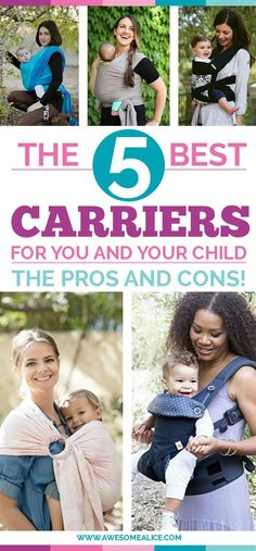 Here's a guide on The Best Baby Carrier For You And The Benefits Of Babywearing. The pros and cons of wraps, carriers, ring slings, mei tais.