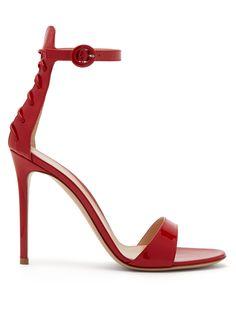 62f1b25931d2 Corset 105 lace-up patent-leather sandals