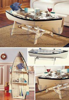 Sally Lee by the Sea Coastal Lifestyle Blog: Top 5 Coastal Coffee Tables: Stylish, Odd & Unique