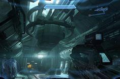 Halo 4 Spaceship