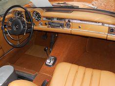 Mercedes-Benz 280 SL W113 (1970) | designed by Paul Bracq pr… | Flickr