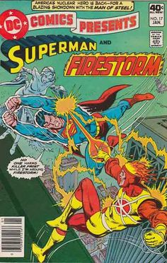 DC Comics Presents, Firestorm, Killer Frost, Jose Luis Garcia Lopez cover