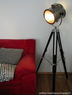 Studio lamp, can we find this lamps baby version? Studio Lamp, Tripod Lamp, Lamps, Canning, Lighting, Baby, Home Decor, Lightbulbs, Decoration Home