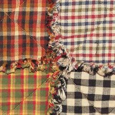 Rag Quilt Instructions - with conversion chart for all bed sizes!