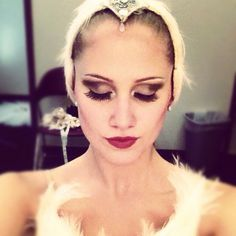 make up for swan lake - Google Search