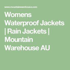 Womens Waterproof Jackets | Rain Jackets | Mountain Warehouse AU