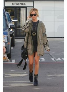 Ashley Tisdale...honestly if I could raid anybody's closet..It'd be hers.
