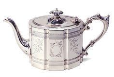 Victorian English Teapot, c. 1860