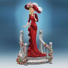 Refreshing Repose Coca Cola Lady Figurine - Bradford Exchange