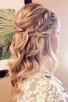 nice 50 Amazing Wedding Hairstyles for Medium Hair https://viscawedding.com/2017/08/30/50-amazing-wedding-hairstyles-medium-hair/