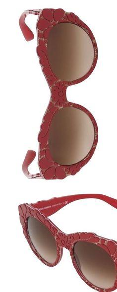 Dolce & Gabbana F/W Mama's Favorite Red Shades: