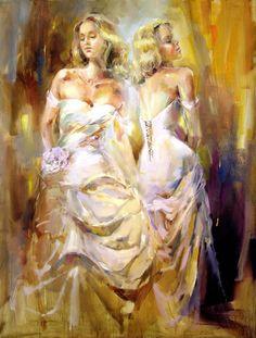 Anna Razumovskaya Soul Reflection Painting