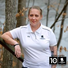 """We created the """"Ten for Ten"""" film series to share inspiring stories from Wounded Warriors who have conquered obstacles and lived inspiring lives.  Angie shares how education and peer mentoring helped her tackle the challenges of PTSD & begin the road to recovery.  #wwp10 #TenforTen"""