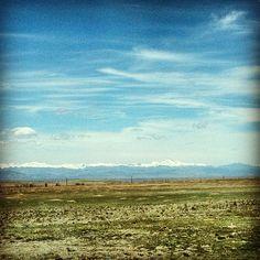 Hello, Rockies. Denver, Colorado. Photo by jsoplop