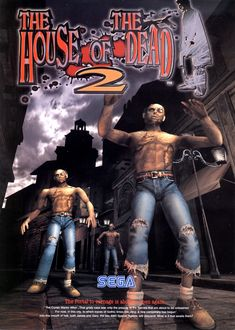 Name: The House Of The Dead 2 / Manufacturer: Sega / Year: 1998