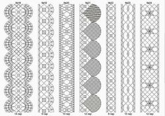 Кружева на коклюшках: Сколки для мерного кружева Bobbin Lace Patterns, Weaving Patterns, Bobbin Lacemaking, Lace Bracelet, Lace Heart, Border Pattern, Lace Jewelry, Needle Lace, Lace Making