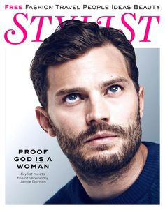 Photographed by Mary McCartney, Fifty Shades of Grey star Jamie Dornan covers the February 2015 issue of British magazine Stylist.