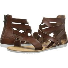 1cdd76584c Blowfish Ella Women's Sandals, Brown ($35) ❤ liked on Polyvore Brown  Gladiator Sandals