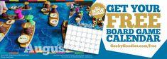 August Calendar, Calendar Time, Calendar 2020, Free Board Games, You Got This, Goodies, Geek Stuff, Sweet Like Candy, Sweets