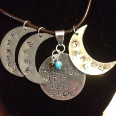 """""""love you to the moon"""" LOVE this"""