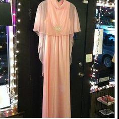 Vintage Gown Pink Vintage pink full length gown... Vintage Dresses