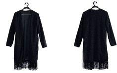 New Spring Winter Tassel Design Cardigan women woolen cloth coat Slim Fashion Jackets Women 4 Colors